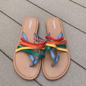 Sonoma Rainbow Sandals